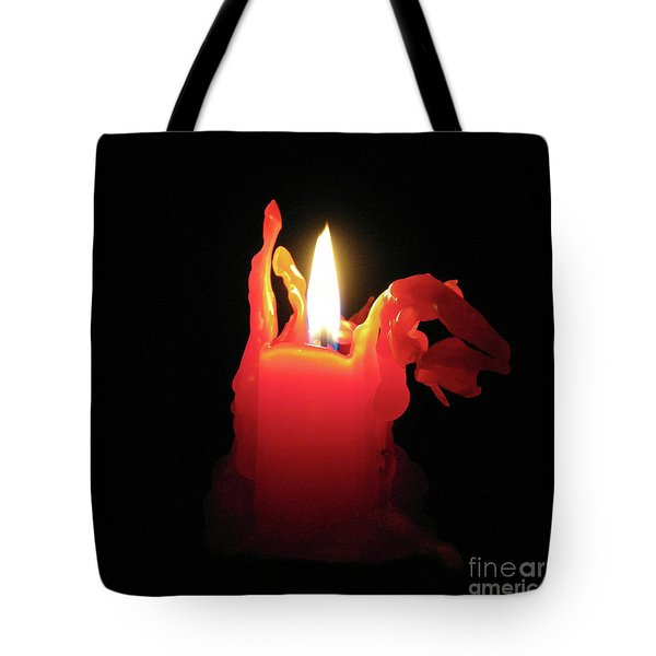 Nearing Burnout Tote Bag by Ann Horn