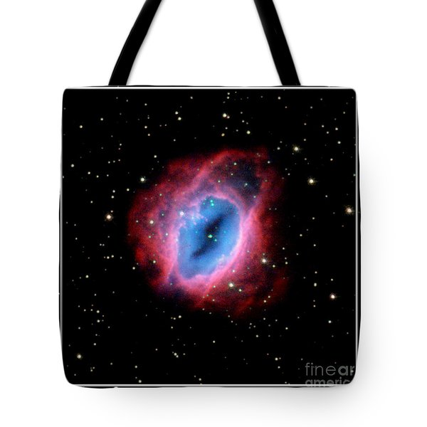 Nebula And Stars Nasa Tote Bag by Rose Santuci-Sofranko