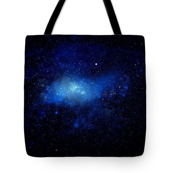 Nebula Ceiling Mural Tote Bag by Frank Wilson
