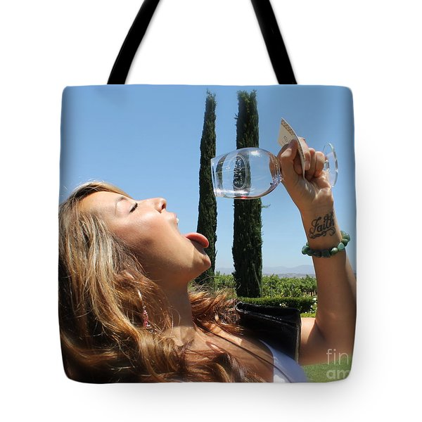 Necture Of The Gods...every Last Drop Tote Bag by Pamela Walrath