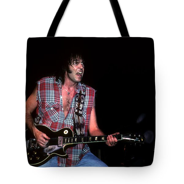 Neil Young 2 Tote Bag by David Plastik