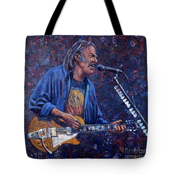 Neil Young Tote Bag by John Cruse Knotts