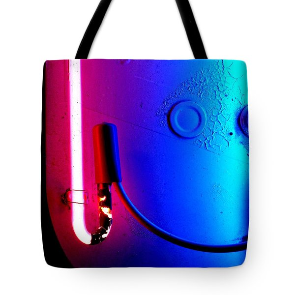 Neon Glow 2 Tote Bag by Newel Hunter