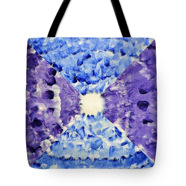 Neonspur Tote Bag by Sumit Mehndiratta