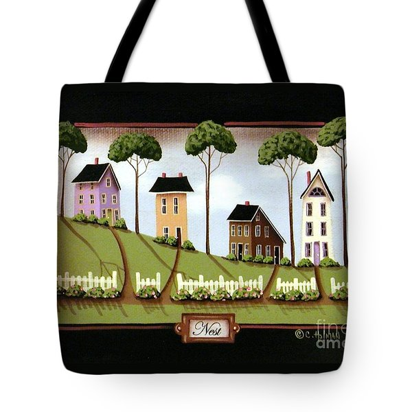 Nest Tote Bag by Catherine Holman