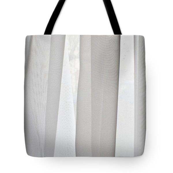 Net Curtain Tote Bag by Tom Gowanlock