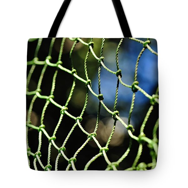 Netting - Abstract Tote Bag by Kaye Menner