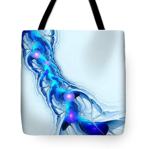 Neural Channel Tote Bag by Anastasiya Malakhova