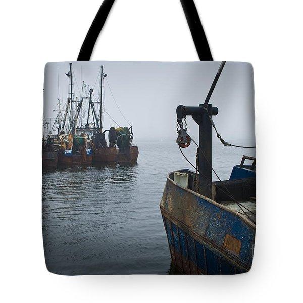 New Bedford Waterfront No. 2 Tote Bag by David Gordon