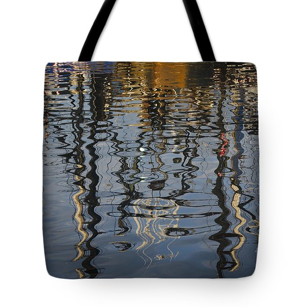 New Bedford Waterfront No. 5 Tote Bag by David Gordon