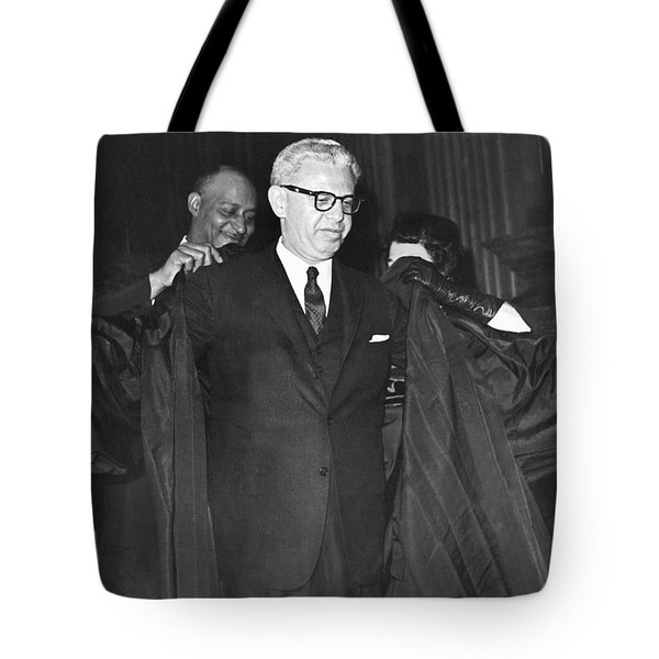 New Court Justice Goldberg Tote Bag by Underwood Archives