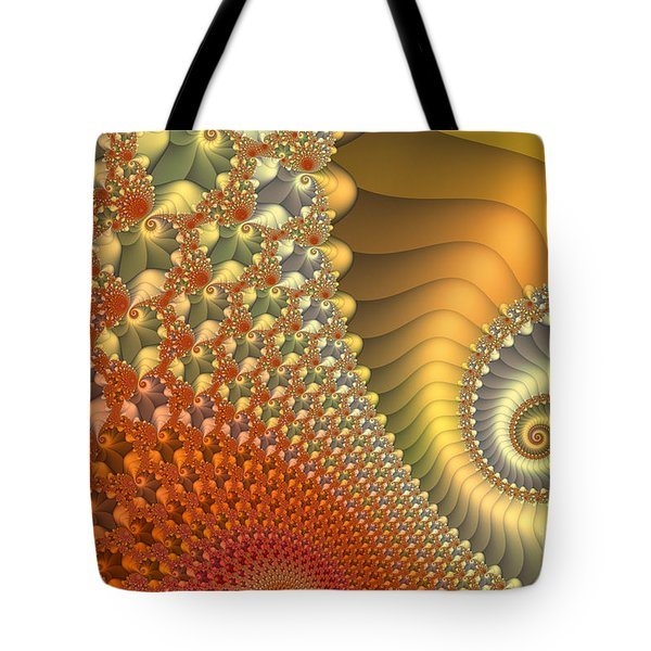 New Day Tote Bag by Jutta Maria Pusl