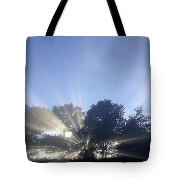 New day Tote Bag by Les Cunliffe