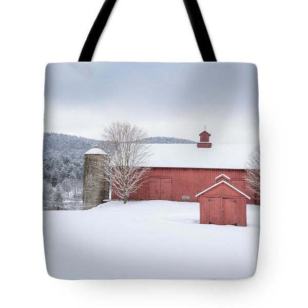 New England Barns Tote Bag by Bill  Wakeley