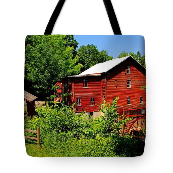 New Hope Mill Tote Bag by Dave Files