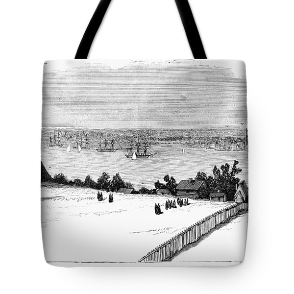 New London, Connecticut Tote Bag by Granger