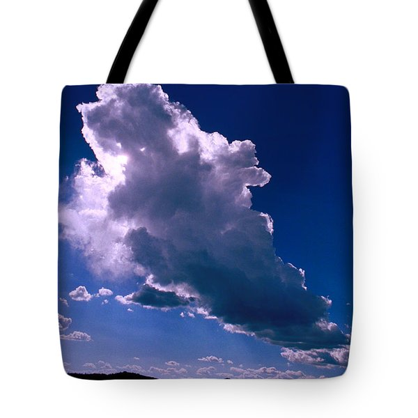 New Mexico Sky Tote Bag by Jerry McElroy