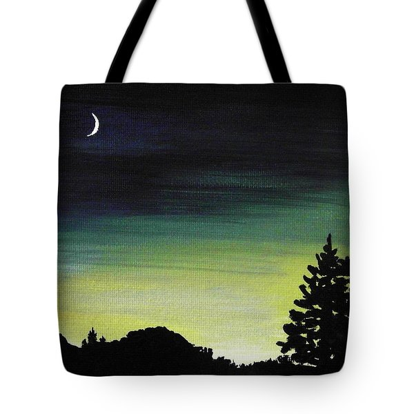New Moon Tote Bag by Anastasiya Malakhova