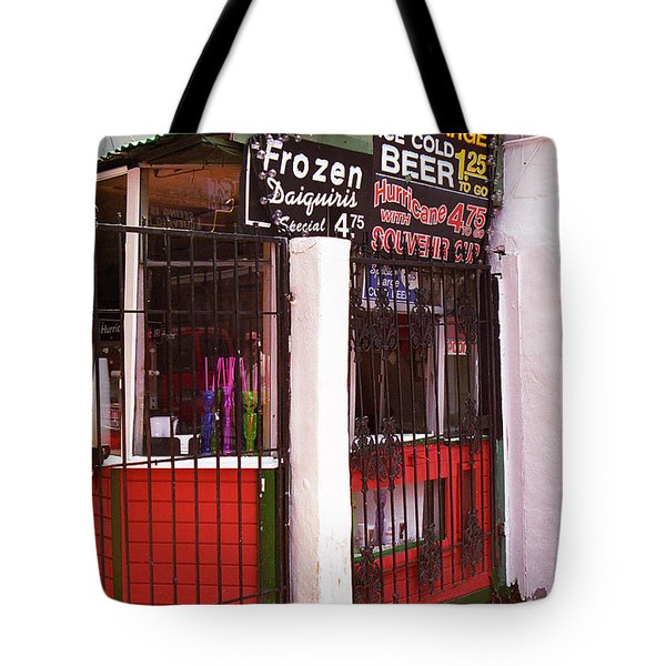 New Orleans - Bourbon Street 5 Tote Bag by Frank Romeo