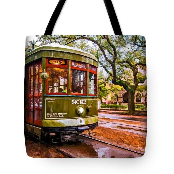 New Orleans Classique oil Tote Bag by Steve Harrington