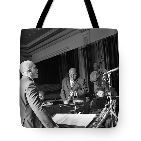 New Orleans Jazz Orchestra Tote Bag by William Morgan
