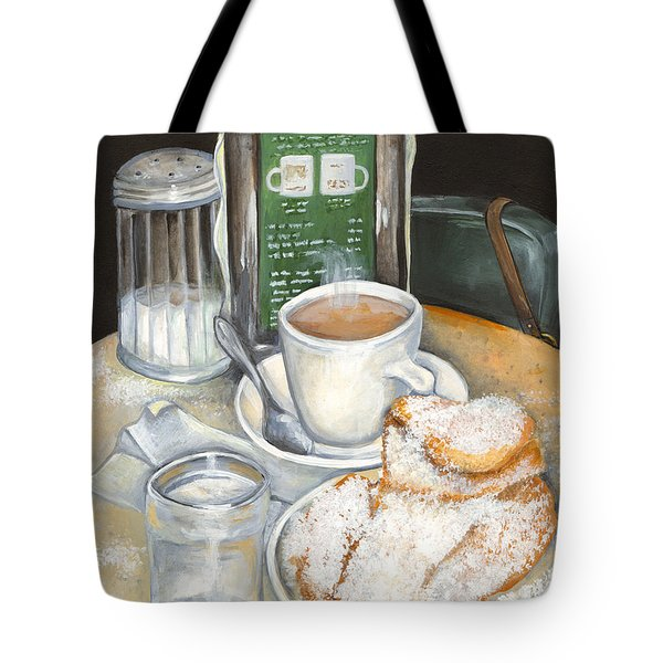 New Orleans Night Treat Tote Bag by Elaine Hodges