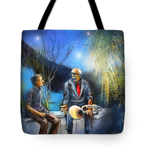 New Orleans Nights 02 Tote Bag by Miki De Goodaboom