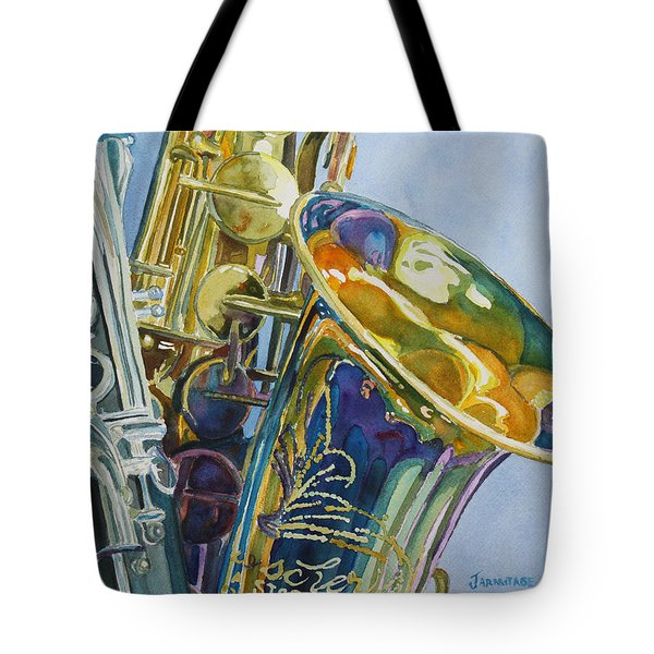 New Orleans Reeds Tote Bag by Jenny Armitage