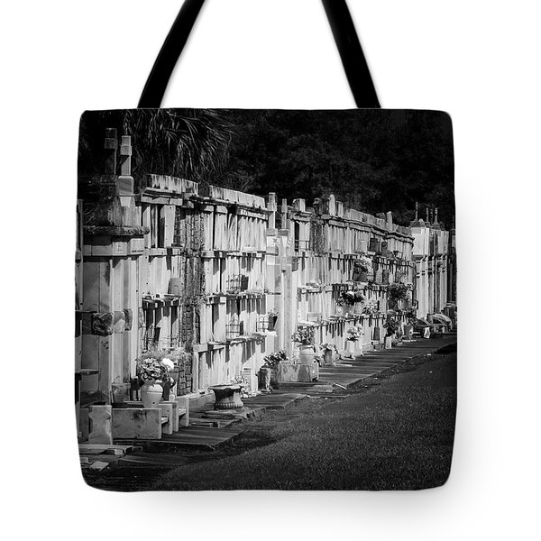 New Orleans St Louis Cemetery No 3 Tote Bag by Christine Till