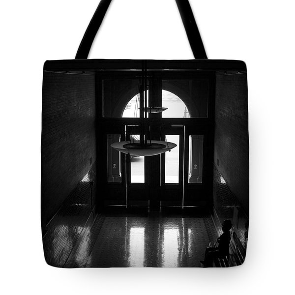 New Photographic Art Print For Sale Bradbury Building 12 Downtown La Tote Bag by Toula Mavridou-Messer