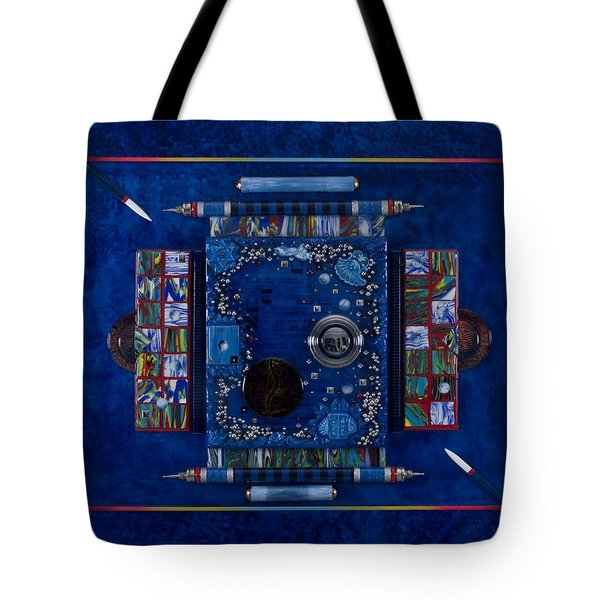 New World Equilibrium Tote Bag by Armand Elgrissy