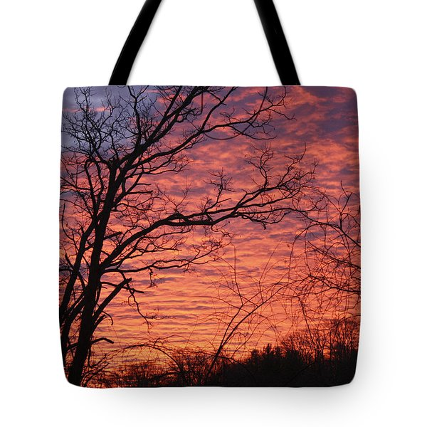 New Year Eve Sunrise Tote Bag by Teresa Mucha