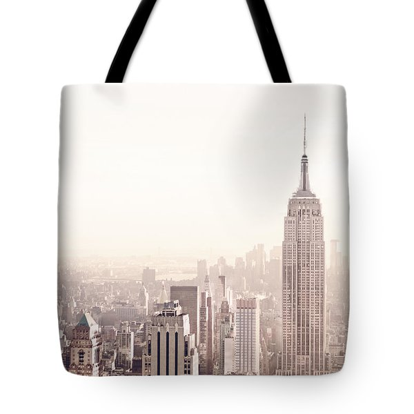 New York City - Empire State Building Tote Bag by Vivienne Gucwa