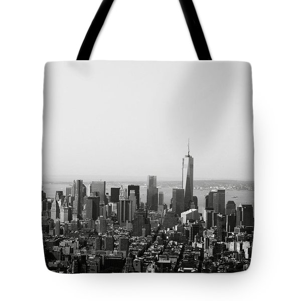 New York City Tote Bag by Linda Woods