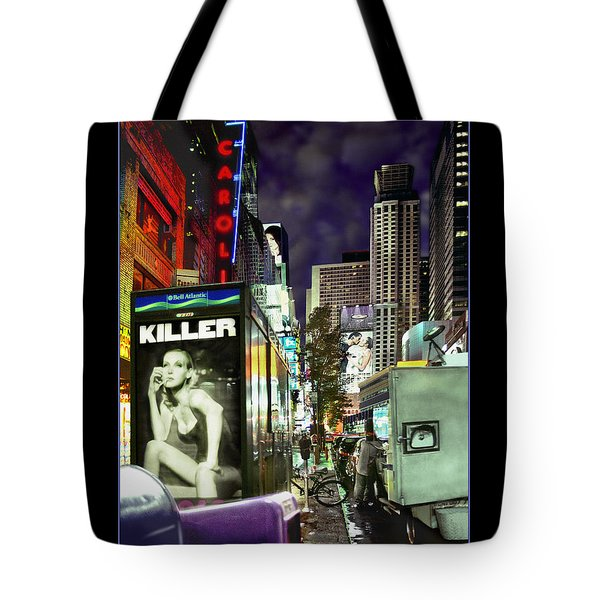 New York City Tote Bag by Mike McGlothlen
