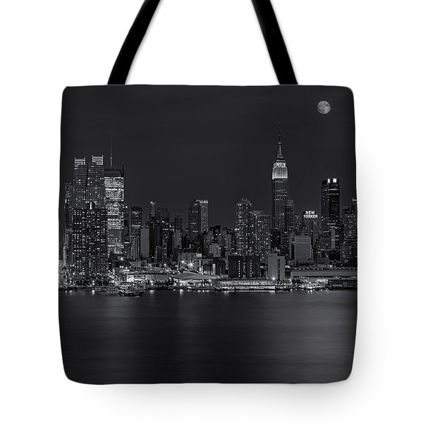 New York City Night Lights Tote Bag by Susan Candelario
