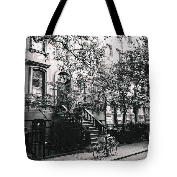 New York City - Summer - West Village Street Tote Bag by Vivienne Gucwa