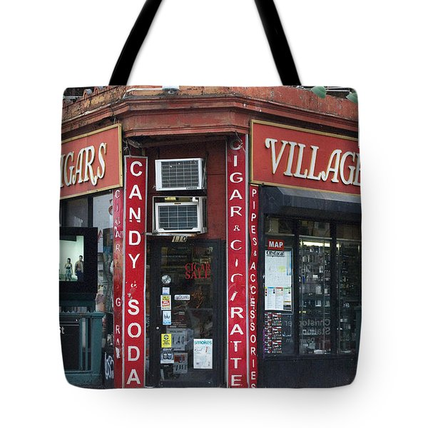 New York City Village Cigars Tote Bag by Anahi DeCanio