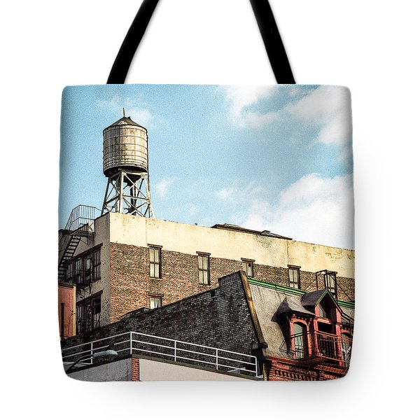 New York City Water Tower 2 Tote Bag by Gary Heller