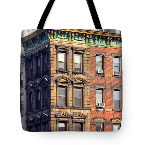 New York City - Windows - Old Charm Tote Bag by Gary Heller