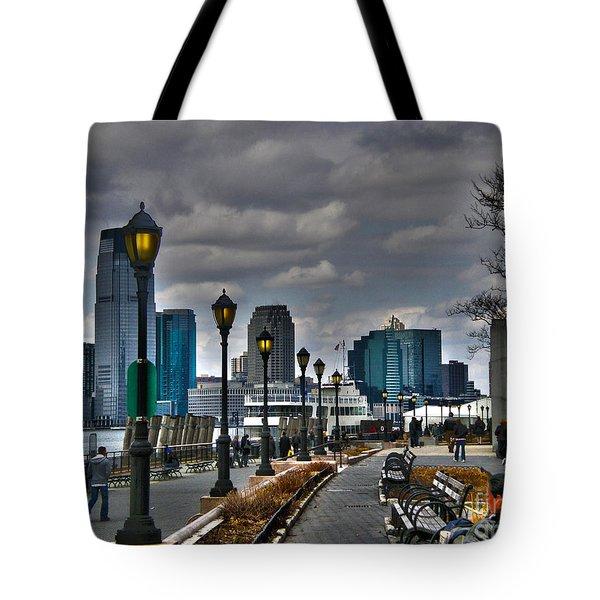 New York Tote Bag by Claudia Mottram