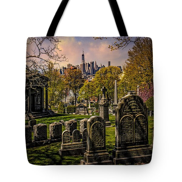 New York From City To City Tote Bag by Chris Lord