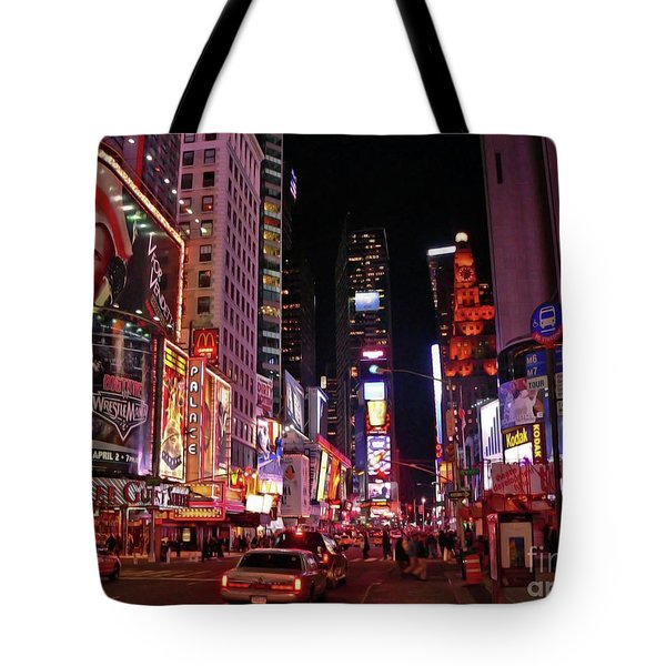 New York New York Tote Bag by Angela Wright