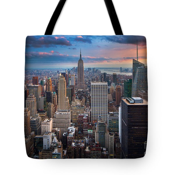 New York New York Tote Bag by Inge Johnsson