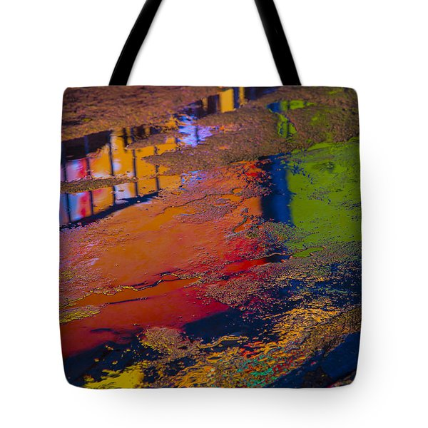 New York Reflections Tote Bag by Garry Gay