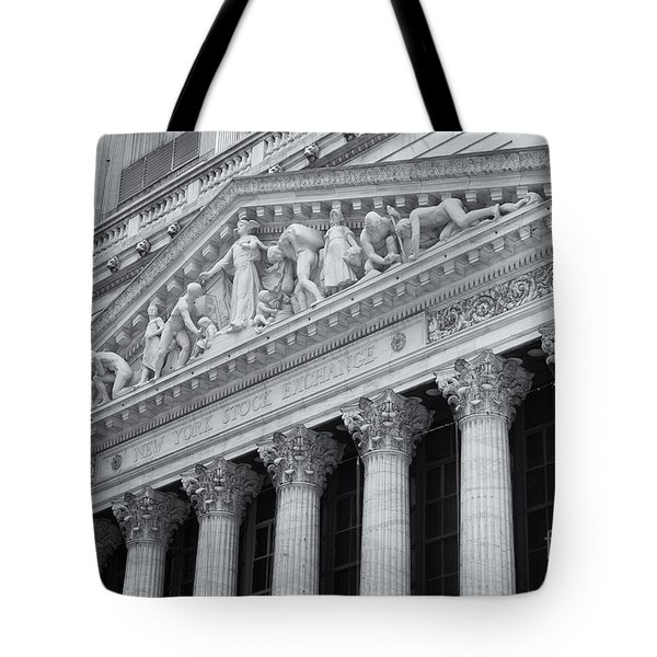 New York Stock Exchange II Tote Bag by Clarence Holmes