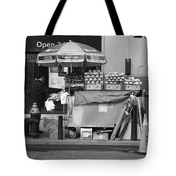 New York Street Photography 6 Tote Bag by Frank Romeo