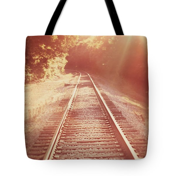 Next Stop Home Tote Bag by Amy Tyler
