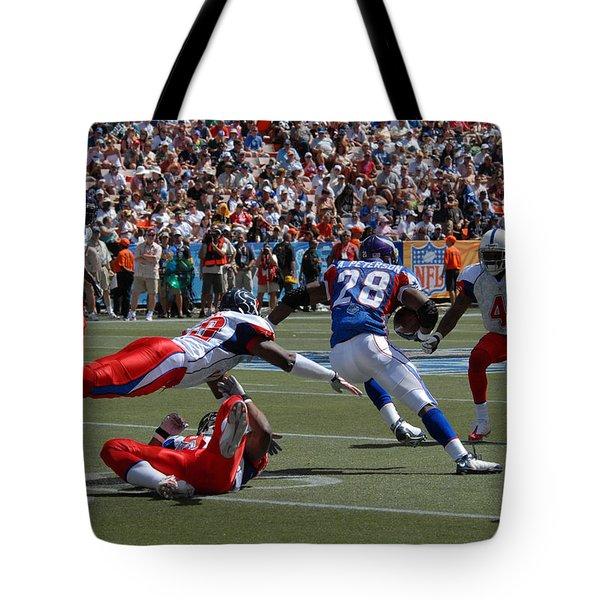 Nfl Pro Bowl Tote Bag by Mountain Dreams