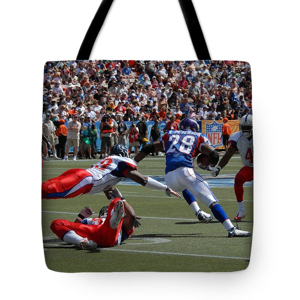 NFL Pro Bowl Tote Bag by Mountain Dreams